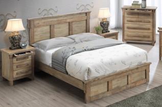 BOGOTA drevená manželská posteľ 180