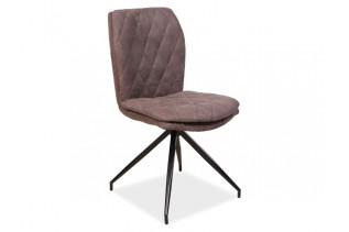 NORBERTO, jedálenská stolička, hnedá