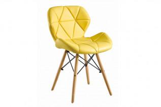DORSET čalúnená stolička, žltá