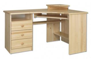 Rohový písací stôl BR108, ľavé prevedenie