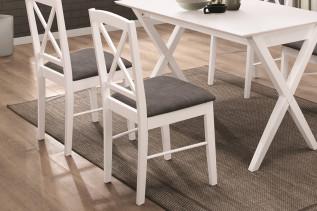 BESSI čalúnená jedálenská stolička