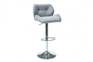 REMZI C122 barová stolička, sivá