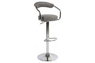 C-231 barová stolička, šedá