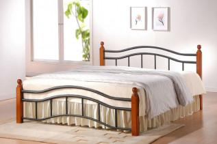 Kovová posteľ Kalabria