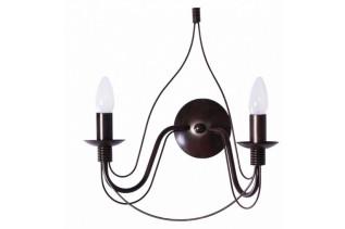 CAMELOT nástenná lampa 4595, hnedá