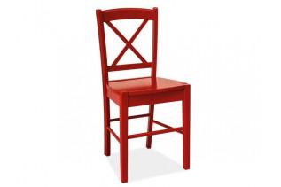 Stolička KD-56, červená