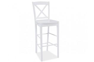 KD-964 barová stolička, biela