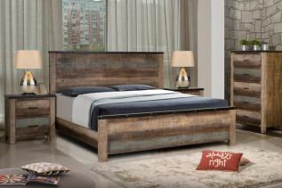 KOLOREDO drevená posteľ 180