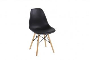 Stolička MODENA, buk/čierna