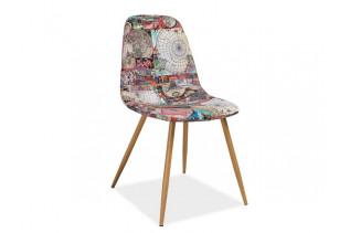 CITY stolička, motív mapy