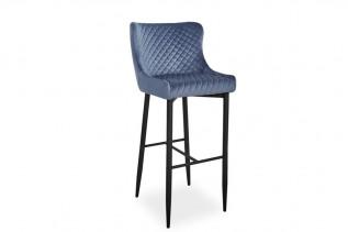 NOLIN B VELVET H-1 barová stolička