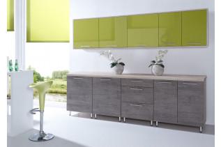Kuchyňa CORA oliva/čoko