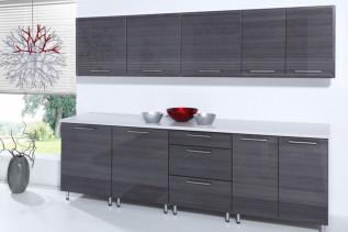 kuchyňa 260 cm grafit