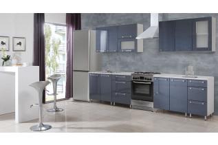 COTTON kuchyňa 260 cm, šedá