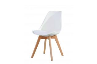CROSS jedálenská stolička, biela