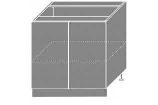 EMPIRIA dolná skrinka D11/80, korpus grey/lava