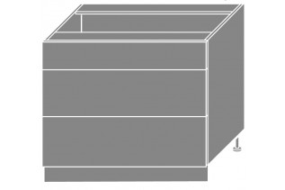 PLATINA dolná skrinka D3E/90H, korpus lava