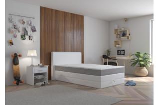 FORD-UP boxspringová posteľ 140, Madryd 120/Inari 91