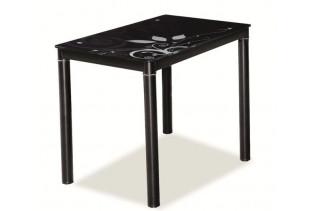 Jedálenský stôl TAMAR, čierny