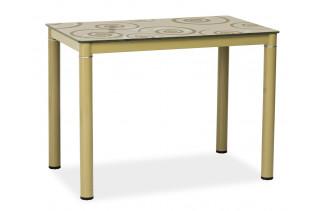 Jedálenský stôl TAMAR, tmavobéžový