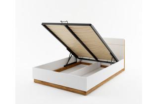 DEREK manželská posteľ s ÚP a LED svetlami DT-02