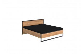 DERO 351 manželská posteľ s kovaním 160x200
