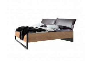 DERO 302 manželská posteľ s čalúnením 160x200 - ilustračné