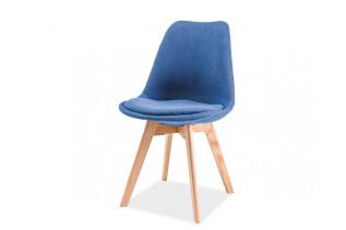 CHRISTIAN jedálenská stolička, modrá