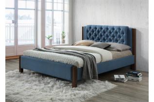 Manželská čalúnená posteľ VERONKA