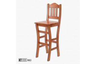 KT111 Barová stolička, morenie jelša