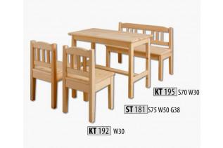 AD242 Detský stôl