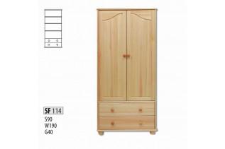 SF114 Skriňa 2-dverová