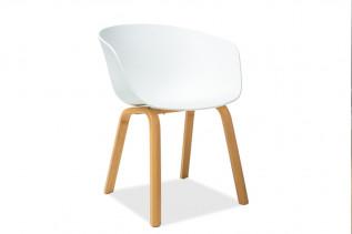 LEGO jedálenská stolička, dub/biela