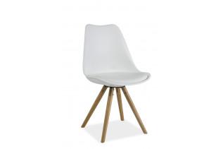 ERIK jedálenská stolička, buk/biela
