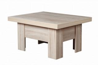 ERIK univerzálny rozkladací stôl, dub sonoma