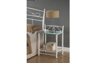 Nočný stolík ET-920, biely