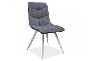 ELENA jedálenská stolička, šedá