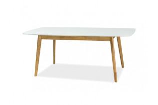 FELIS jedálenský stôl, dub/biela
