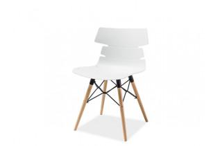 FREDO stolička, buk/biela