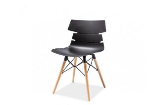 FREDO stolička, buk/čierna