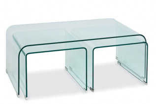 PRIAM A sklený konferenčný stolík