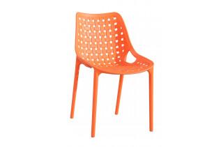 TERY plastová stolička, oranžová
