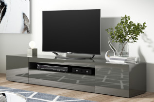 ZORO moderný TV stolík, antracit
