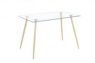 GLISS sklenený jedálenský stôl