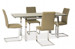 GT-017 jedálenský stôl, tmavobéžový