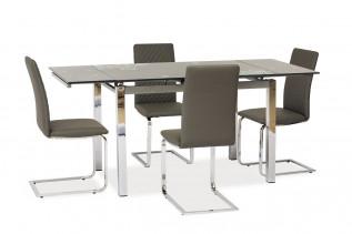 GT-017 jedálenský stôl, šedý