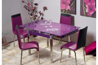 Vzorová zostava: stôl GD-082 + stoličky H-161.