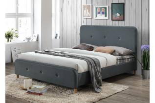 LIDA čalúnená manželská posteľ 160