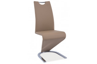 Jedálenská stolička HK-090, tmavobéžová