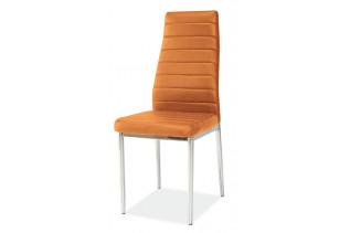 Jedálenská stolička VERME, oranžová